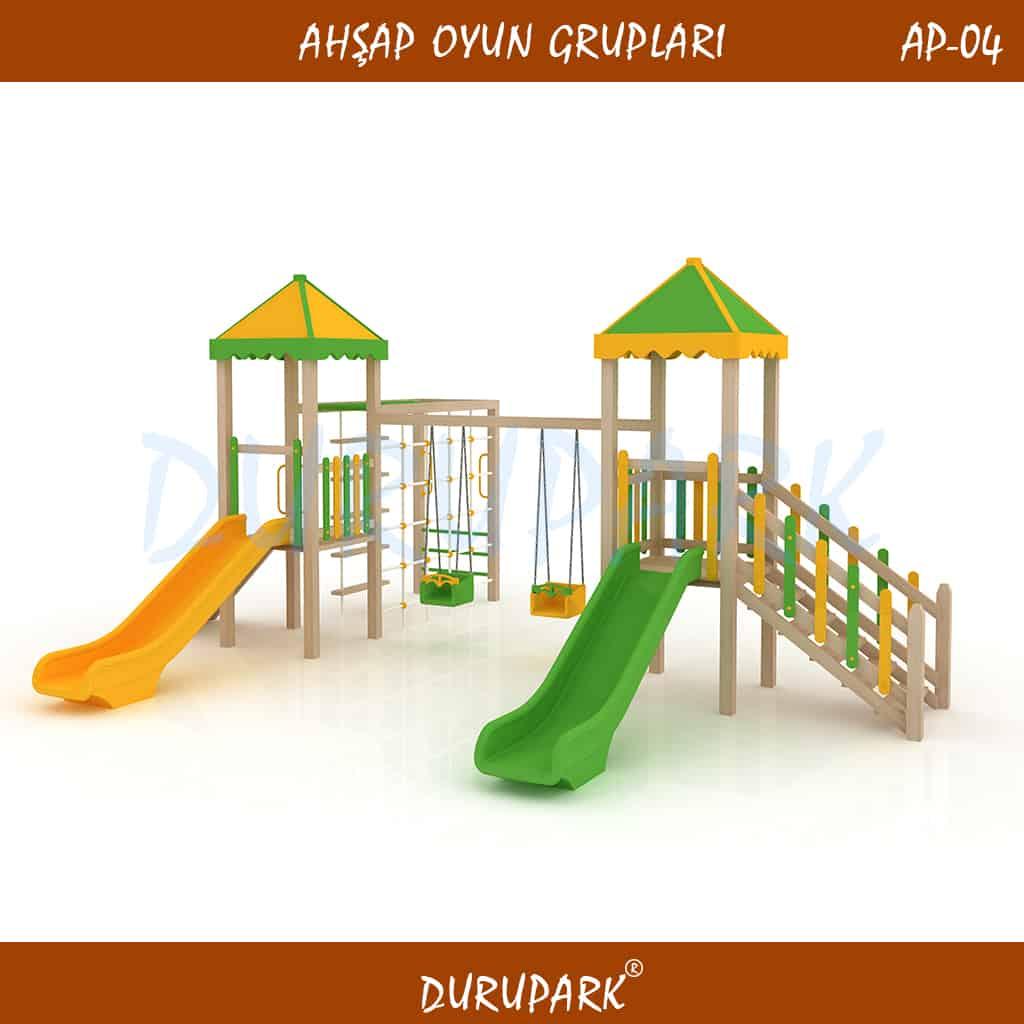 AP04 - Ahşap Oyun Grupları