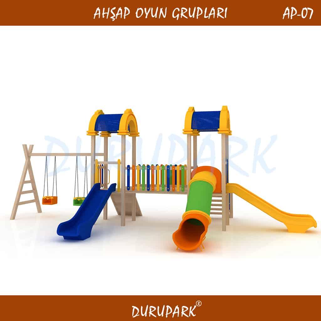 AP07 - Ahşap Oyun Grupları
