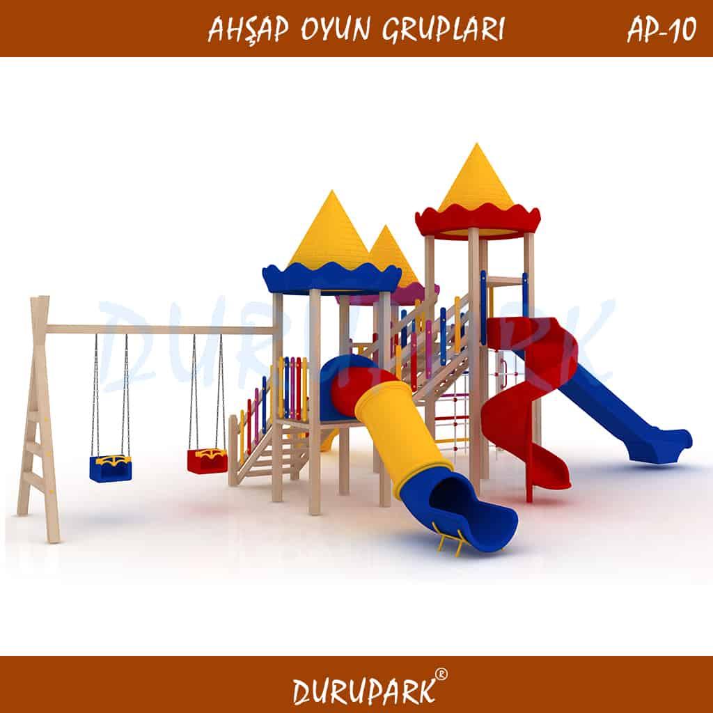 AP10 - Ahşap Oyun Grupları