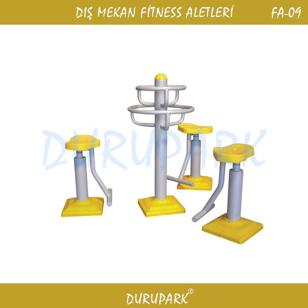 FA9 - Bel ve Göğüs Kası Çalıştırma Aleti