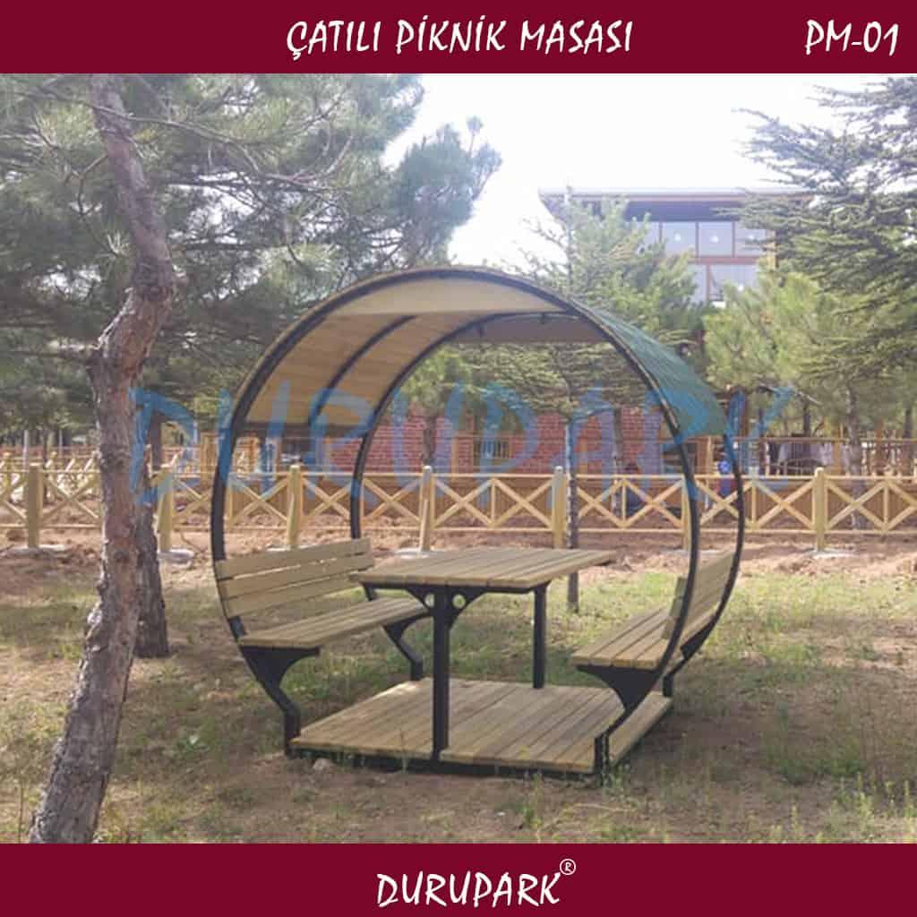 PM01 - Çatılı Piknik Masası