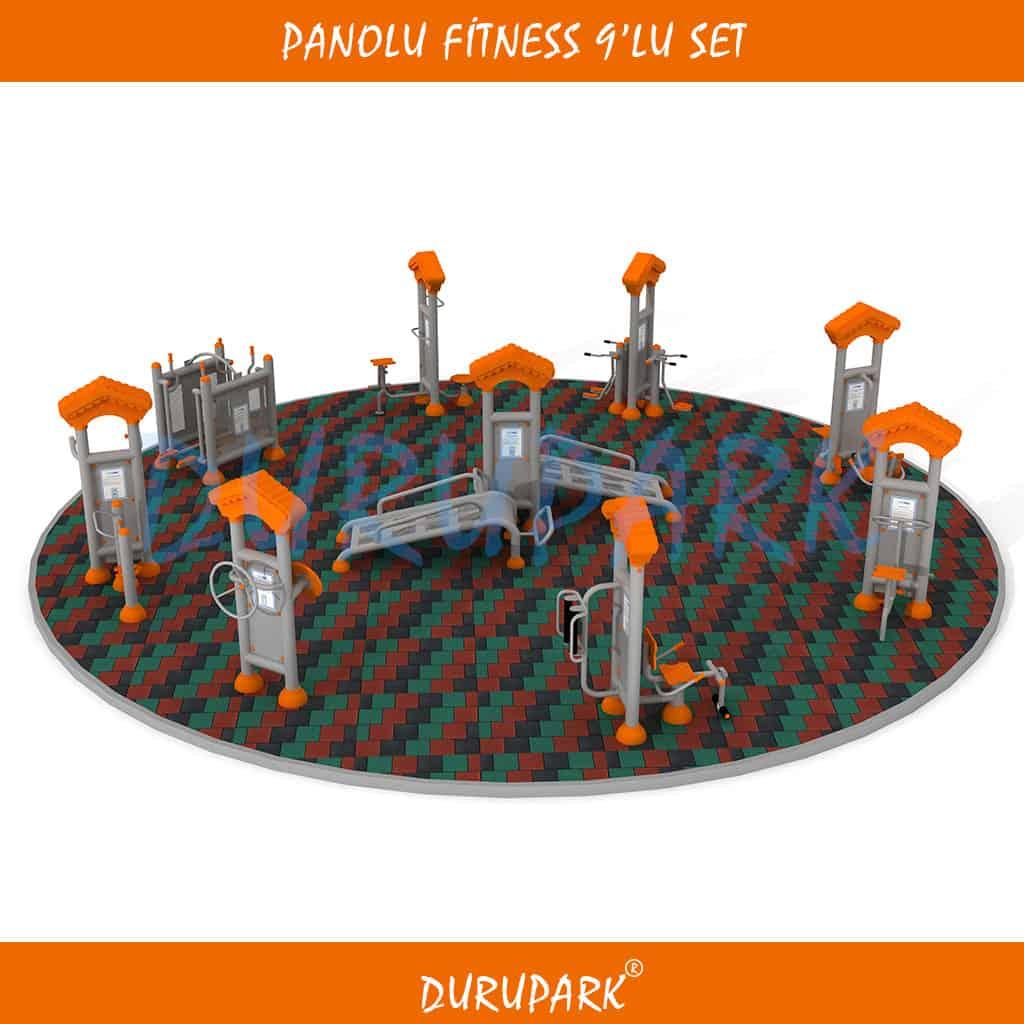 Panolu Fitness 9'lu Set