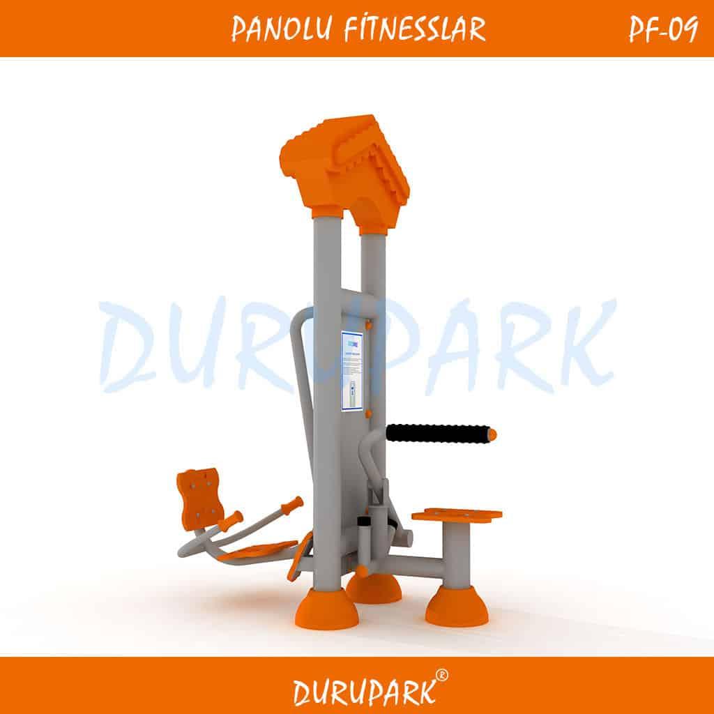 PF09 - Oturarak Sırt Masajı & Bacak Ve Karın Kaslarını Çalıştırma